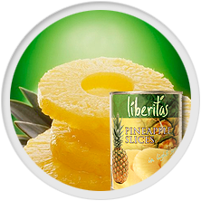 Pineapple slices 580ml