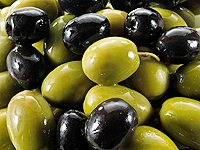 Green or black olives