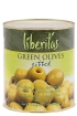 Stoneless green olives