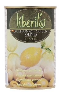 Olives vertes farcies au citron